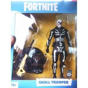 McFarlane Fortnite Skull Trooper 7in Figure